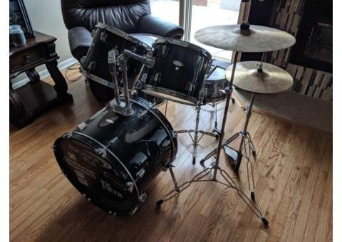 Percussion Plus Drumset, Used, Audio Sample in Description
